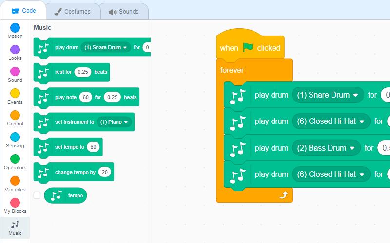 bremenskite-muzikanti-add-extensin-music-scratch3-robokids-burgas-kids-code-animations