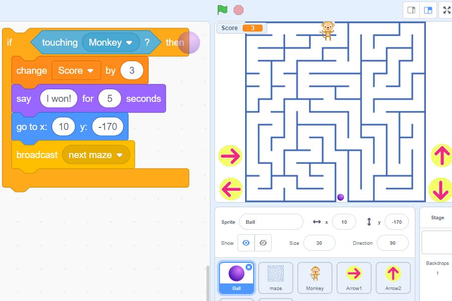 maze-game-ball-sprite-3-script-scratch3-robokids-burgas-kids-code-games