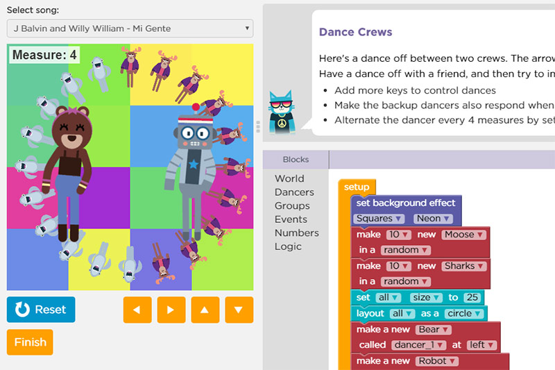 kids-code-dance-party-free-demo-hour-of-code-burgas-2018-robokids-4