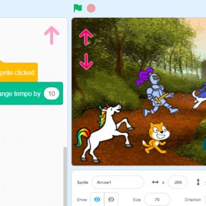 Бременските Музиканти - музикална интерактивна история в новия Scratch 3.0