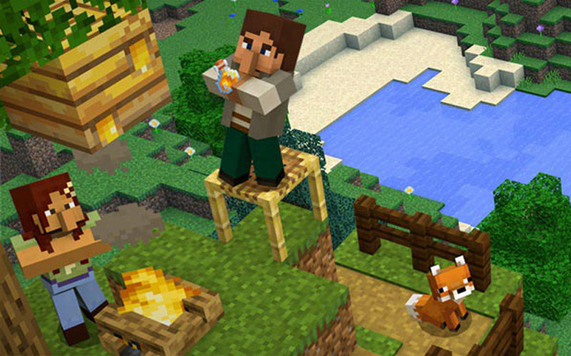Minecraft Програмиране за деца 2021 - курсове, работилници, безплатни демо уроци Бургас София
